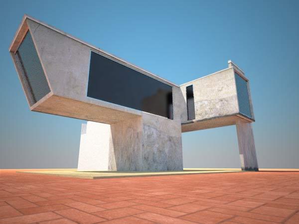 Atelier k99 krembo99 architecture image design for Concept villa