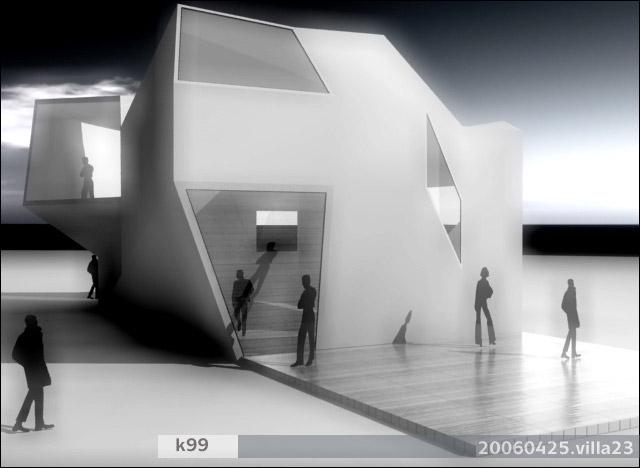 atelier k99 krembo99 architecture image design blog archive villa 23 polyhuose. Black Bedroom Furniture Sets. Home Design Ideas