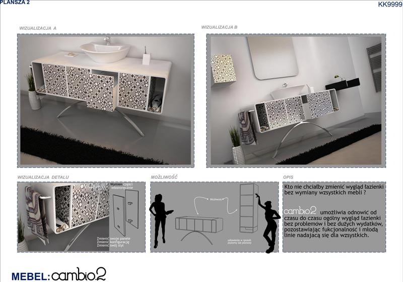 Bon ... Bathroom Furniture Competition   The Panels (2) ...