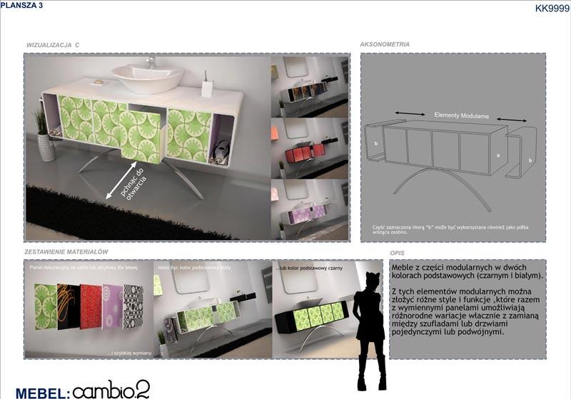 Bathroom Furniture Competition   The Panels  3. Atelier K99     Krembo99   Architecture   Image   Design  Blog